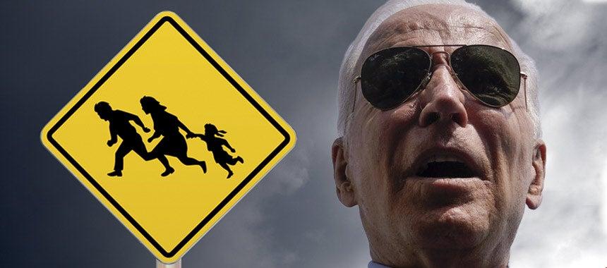 Biden Allows Unvaccinated Illegal Aliens to Flood Border