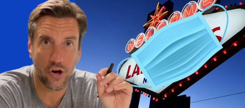 Clay Brings Mask Mandate to Vegas, Lunacy Sweeps Nation