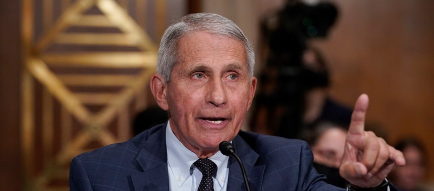 Fauci: Force Children to Get the Shot