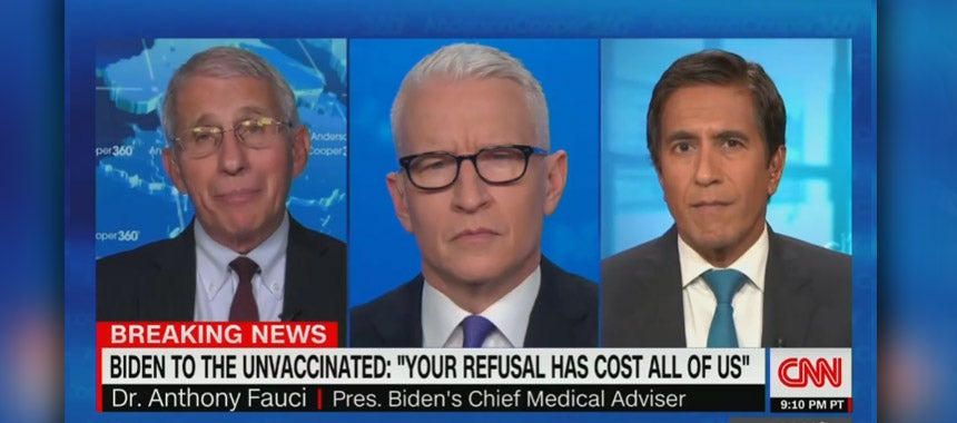 Fauci Finally Asked About Natural Immunity, Has No Answer!