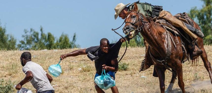 In Response to Hoax Story, Biden Bans Horses on Border