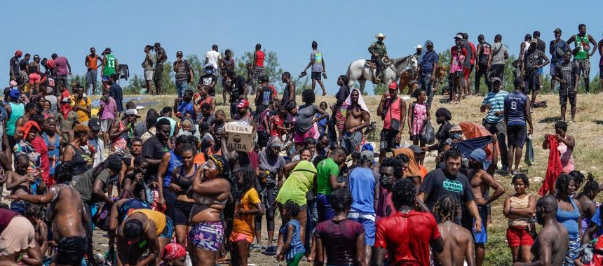 How Did All Those Haitians Get to the Border?