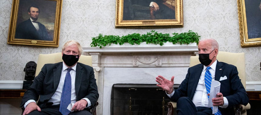 Psaki Blames Boris for Calling on Press Without Alerting Her