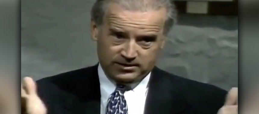 1994: Biden Said
