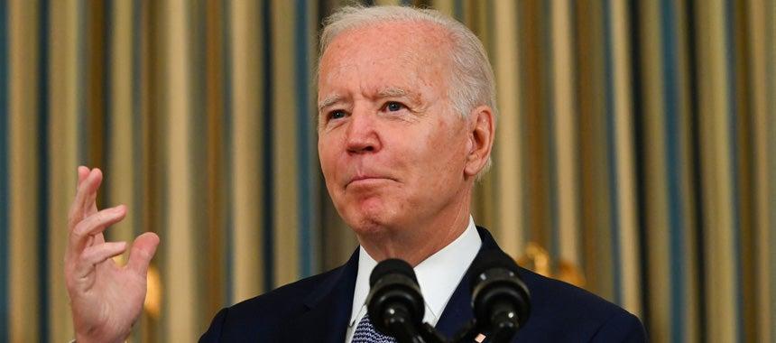 Tired Old Joe Spins Incredibly Weak Jobs Report