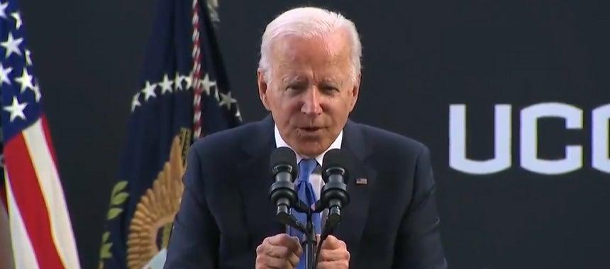 Sad, Whisperin' Joe Demonstrates Decline