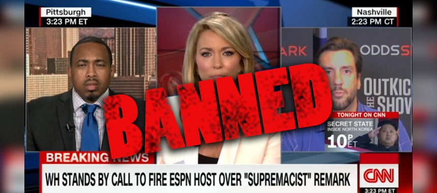 This Is What Got Clay Banned from CNN